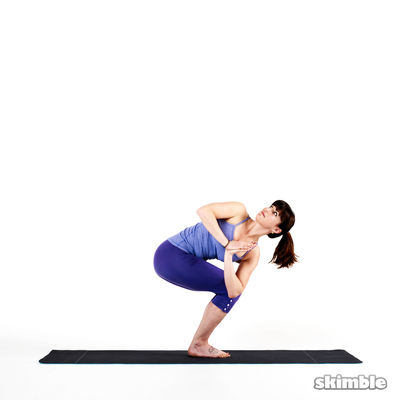 Right Twisted Chair Pose