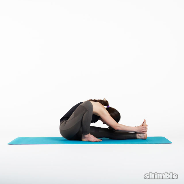 How to do: Sage Pose - Step 3