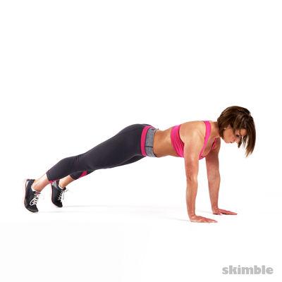 2-Min Plank Challenge