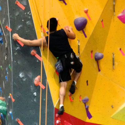 Bouldering and Climbing Top Rope Laps