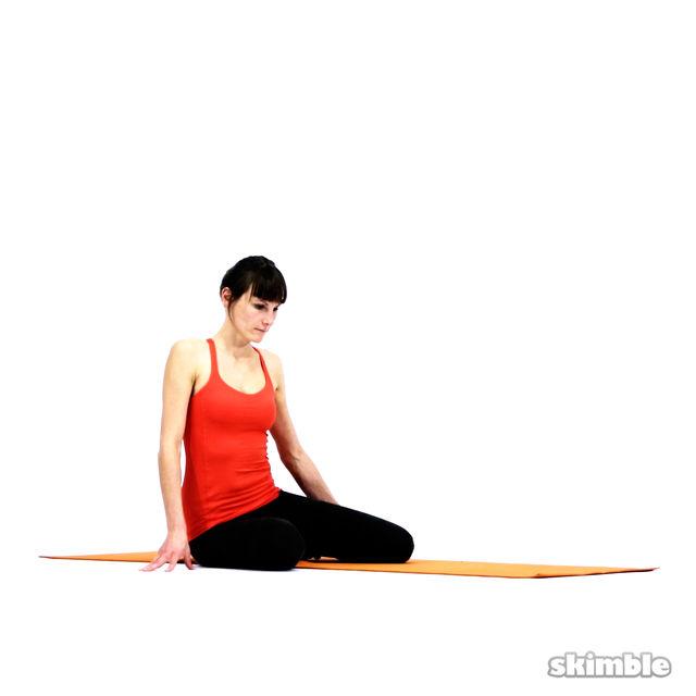 How to do: Bharadvaja's Twist - Step 2