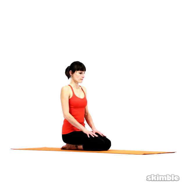 How to do: Bharadvaja's Twist - Step 1