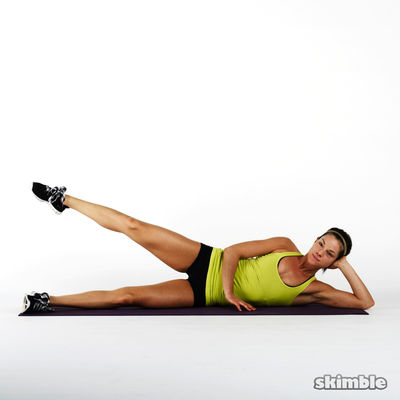 Lying Right Leg Back Circles