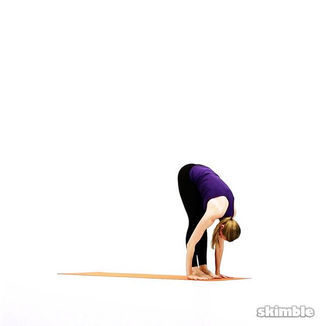 How to do: Modified Vinyasa - Step 14