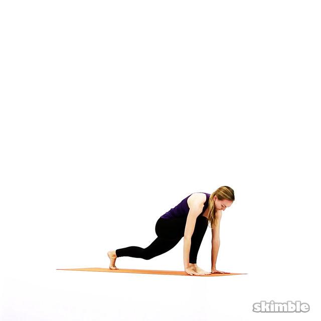How to do: Modified Vinyasa - Step 13