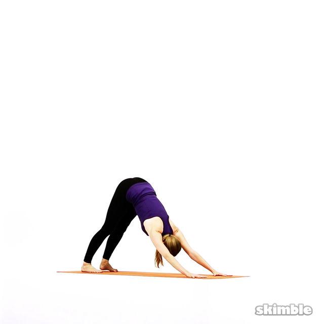 How to do: Modified Vinyasa - Step 12