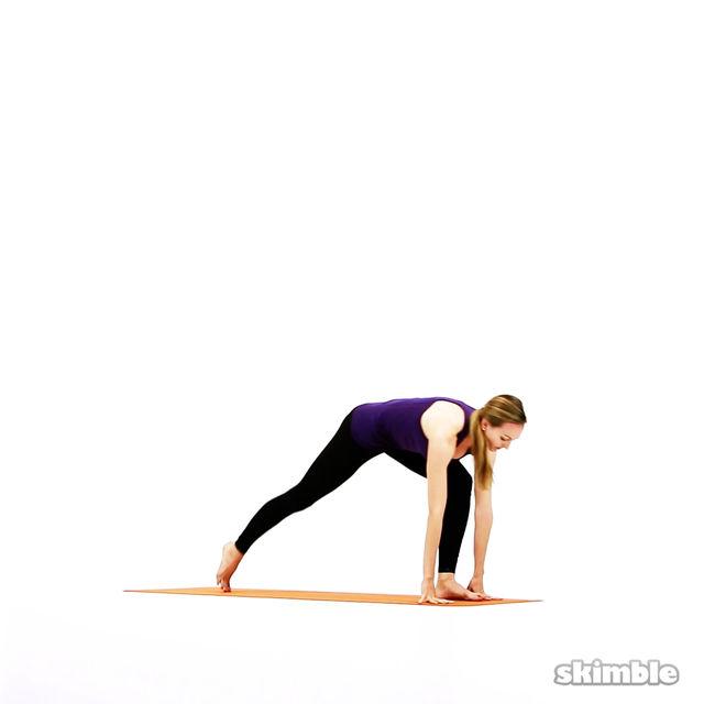 How to do: Modified Vinyasa - Step 5