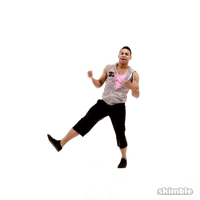 How to do: Cross Kicks - Step 5