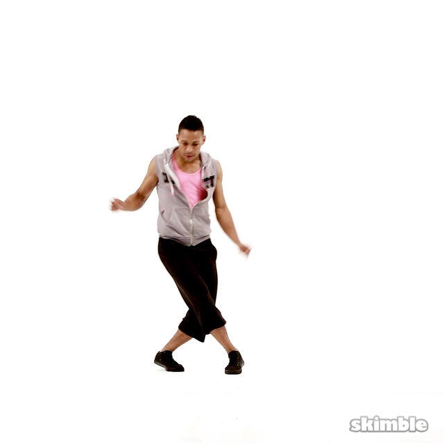 How to do: Cross Kicks - Step 2