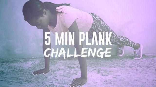 5 Minute Plank Challenge