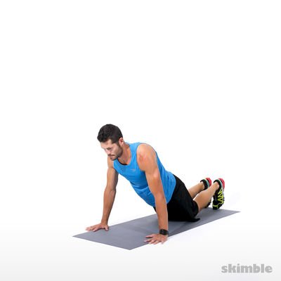 Kneeling Plank