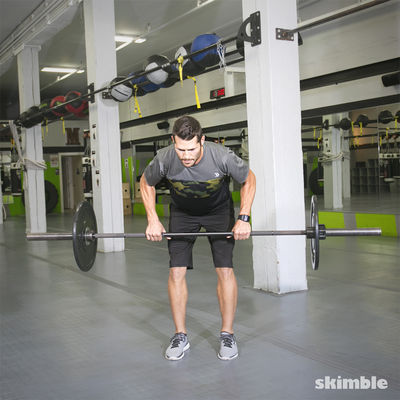Hitting The Bar: Full Body Barbell Workout!