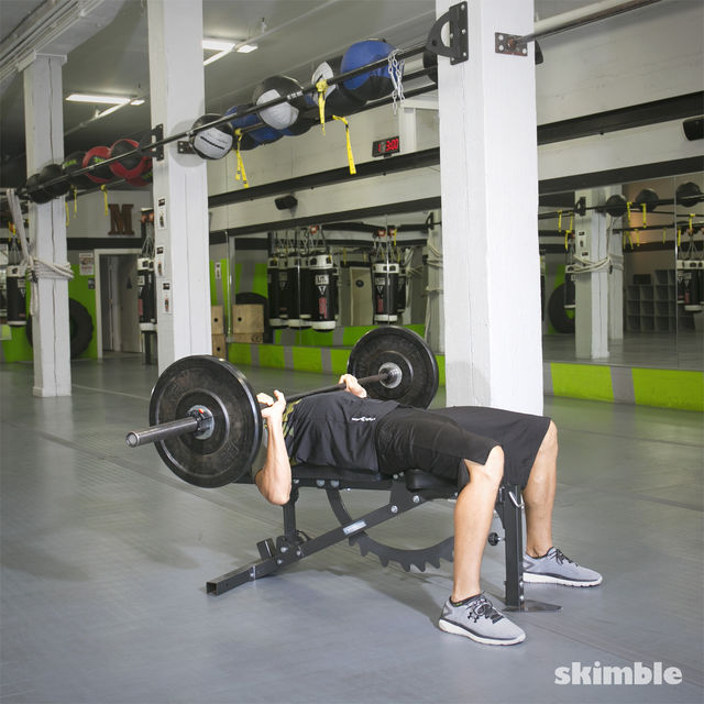 How to do: Barbell Bench Press - Step 1