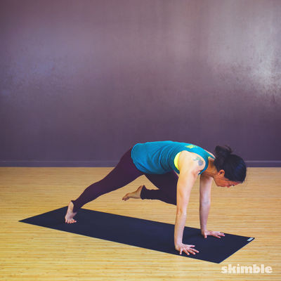 Left Low Lunge