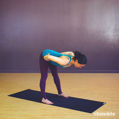 Wide Leg Forward Bend
