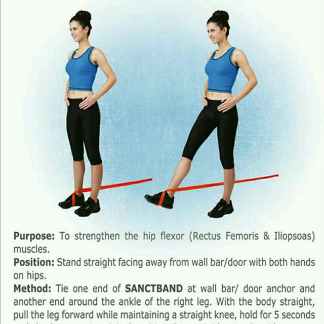 Exercise Bands Hips: Workout Trainer By