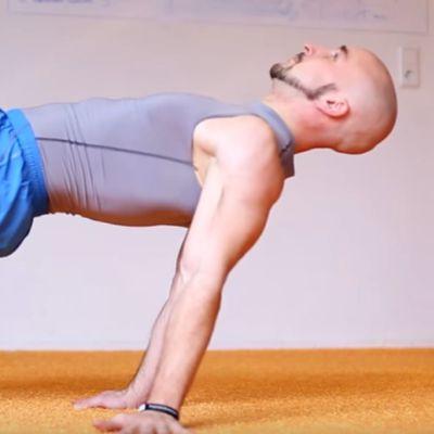 Reverse Planche Lean