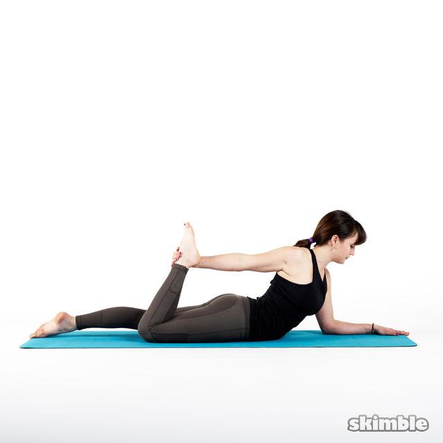 How to do: Half Frog Pose - Step 1