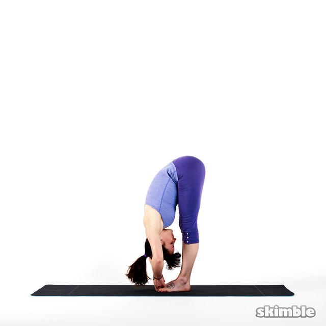 How to do: Big Toe Forward Bend - Step 2