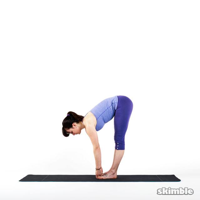 How to do: Big Toe Forward Bend - Step 1