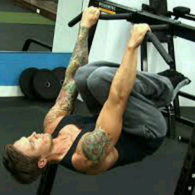 tuck front lever pull ups