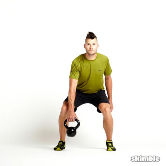 Exercise Kettlebell Figure Eight: Member Workout By V D.