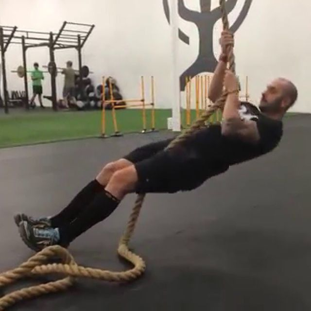 seated rope pull exercise how to workout trainer by skimble