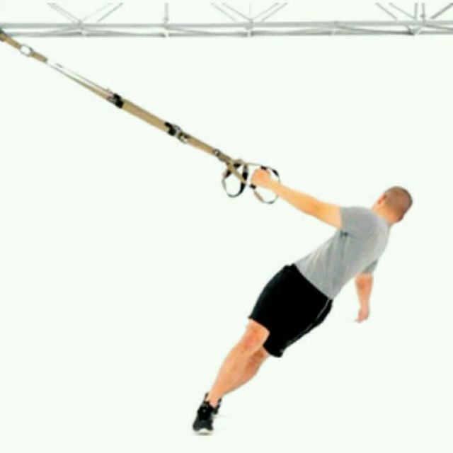 Trx T Spine Rotation Exercise How To Workout Trainer By Skimble