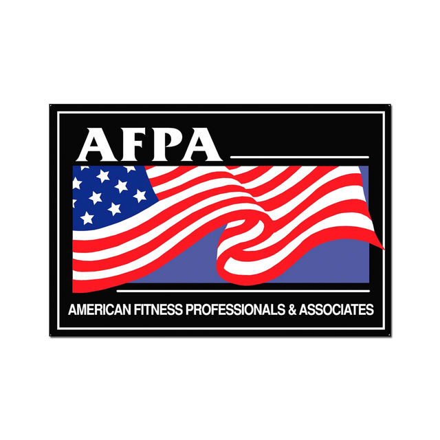American Fitness Professionals Associates Afpa Fitness