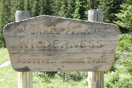 Crater Lake Trail, James Peak Wilderness