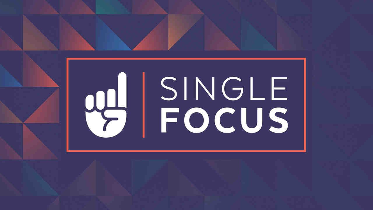 Single focus web