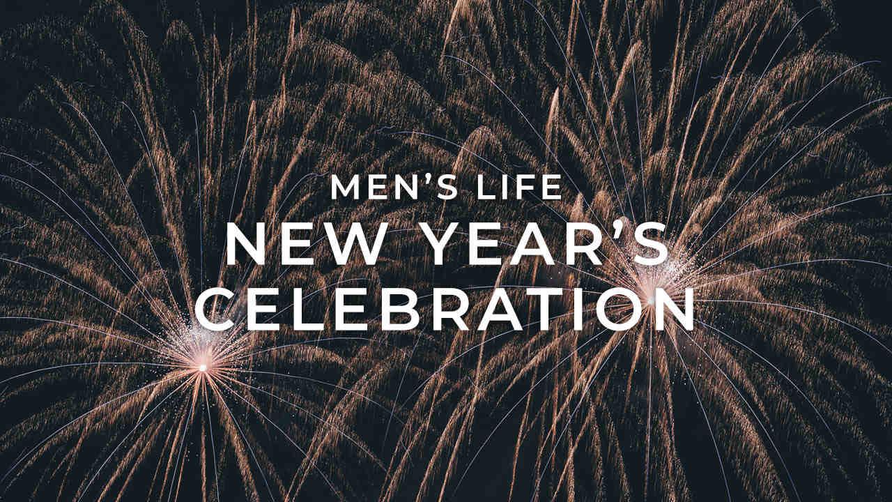 Mens life new years