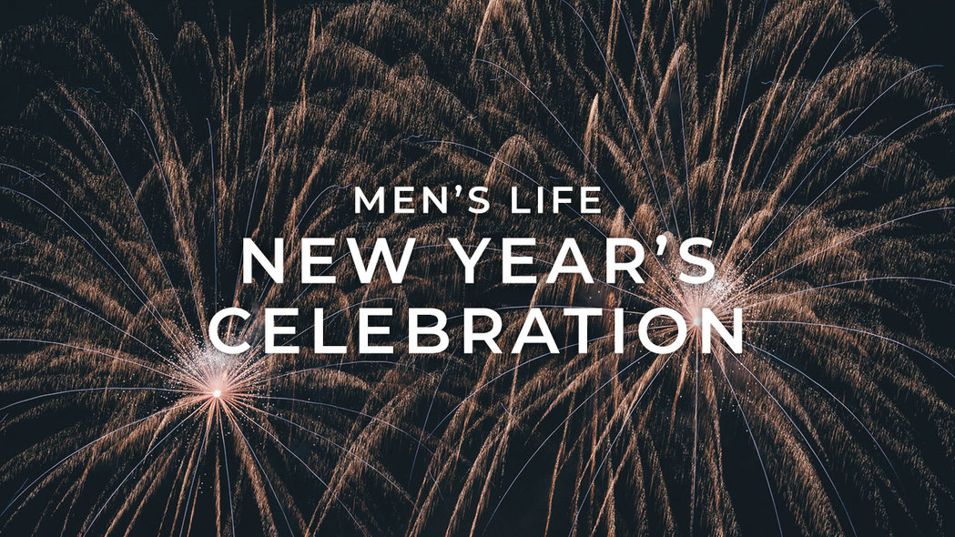 Mens life new years