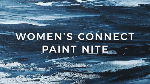Womens connect paint nite