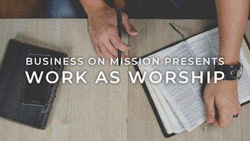 Work as worship revised