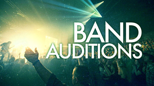 Band auditions web