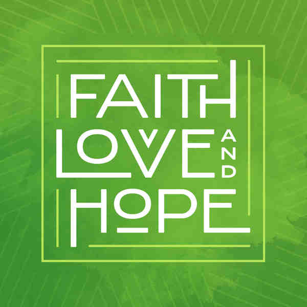 Faith love and hope square
