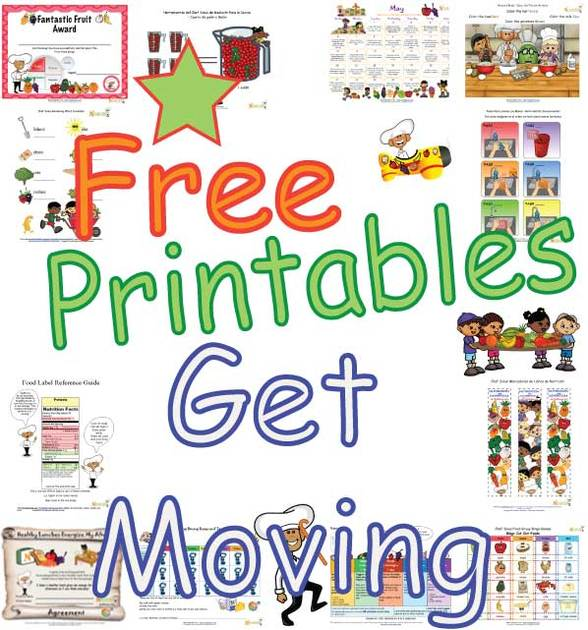 exercise and being active worksheets and activities for preschool and elementary school age children