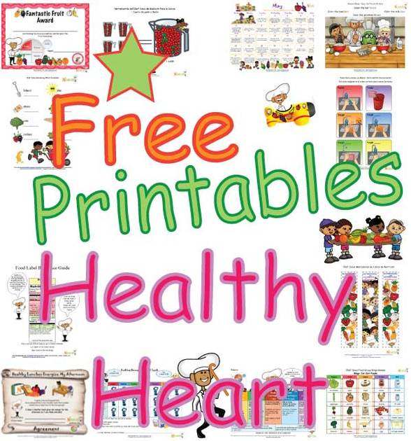 Healthy Heart Activities, Coloring Sheets, Puzzles and Learning Fun ...