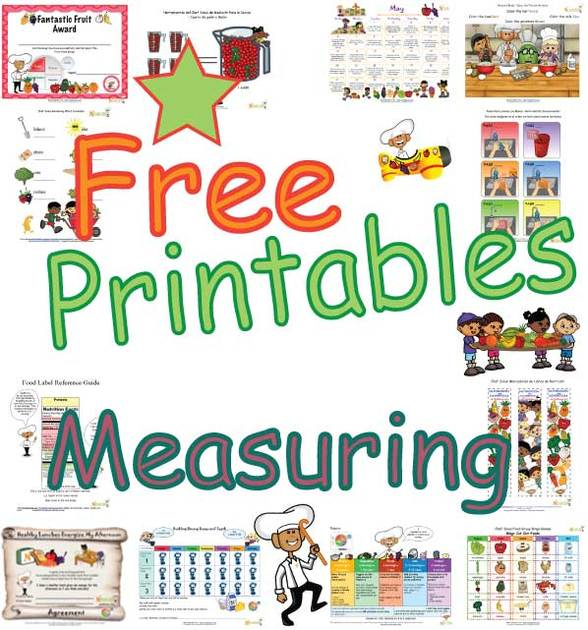 Kids' Cooking Classroom Activities- Teaching Students Measuring ...