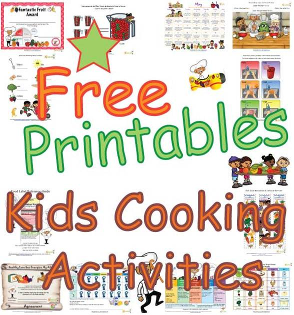 Kids Cooking Classroom Activities Teaching Children About