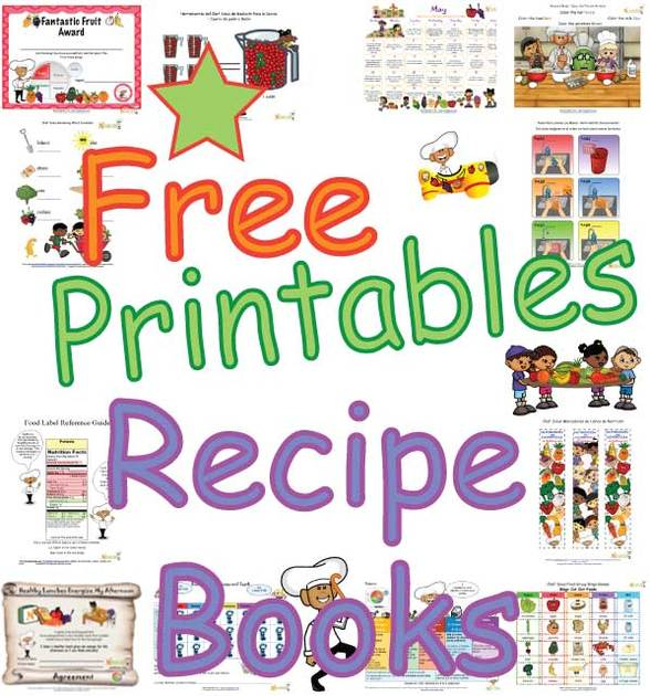 healthy recipe books for kids for print