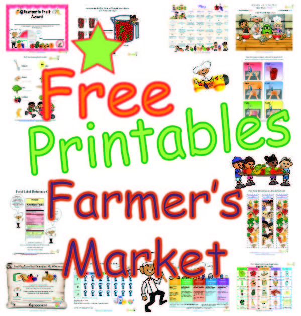 Farmers Market Worksheets and Activities for kids promoting the – Market Math Worksheets