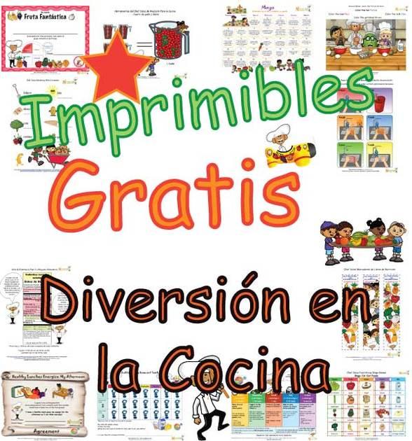 Actividades Para el Aula De la Cocina Saludable Para Niños– Para ...