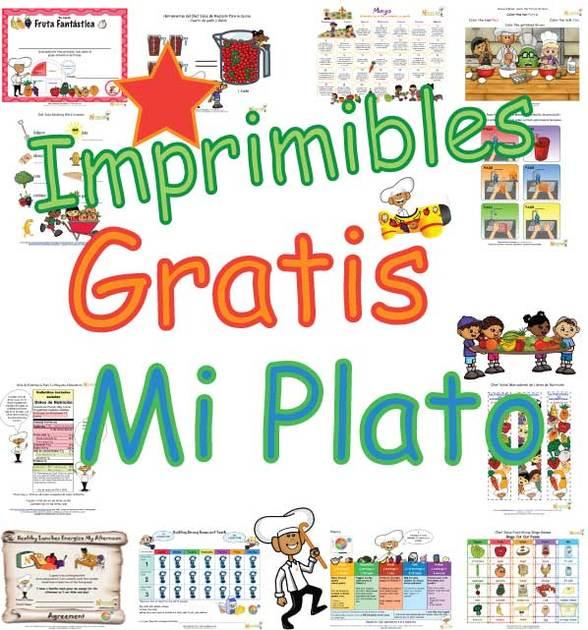 Imprimibles Gratis - Actividad de Aprendizaje de Nutrición de Mi ...
