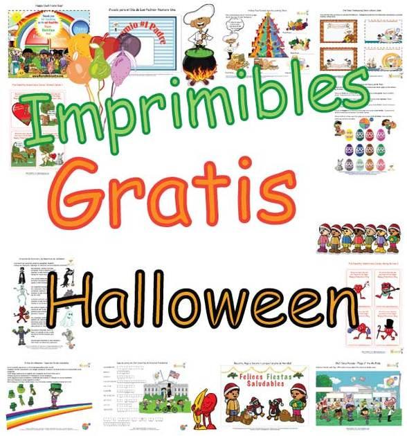 Página de Actividades para Halloween