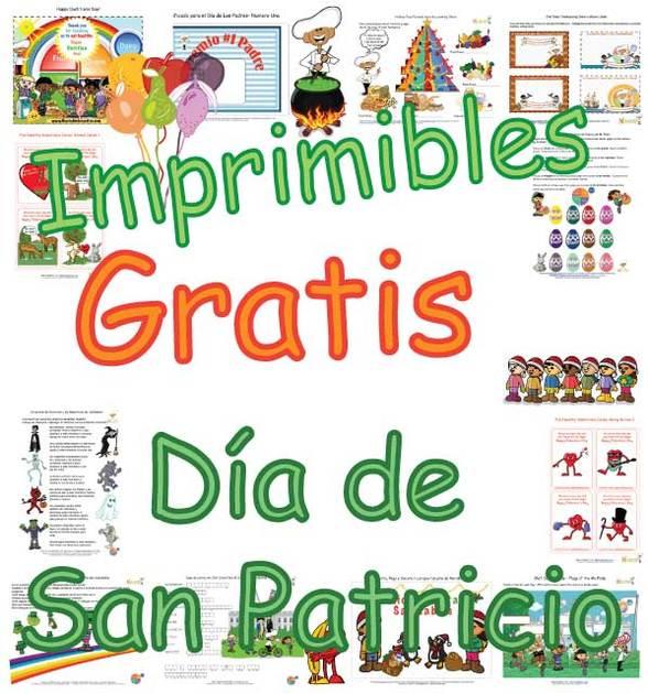 Página para Niños del Verde de la Suerte de San Patricio