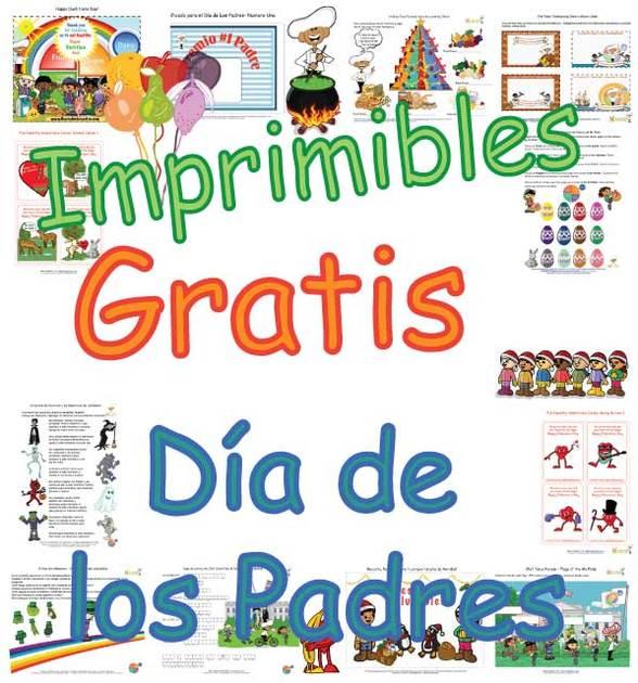 Imprimibles Gratis – Tarjetas Para el Día de Los Padres para Niños ...