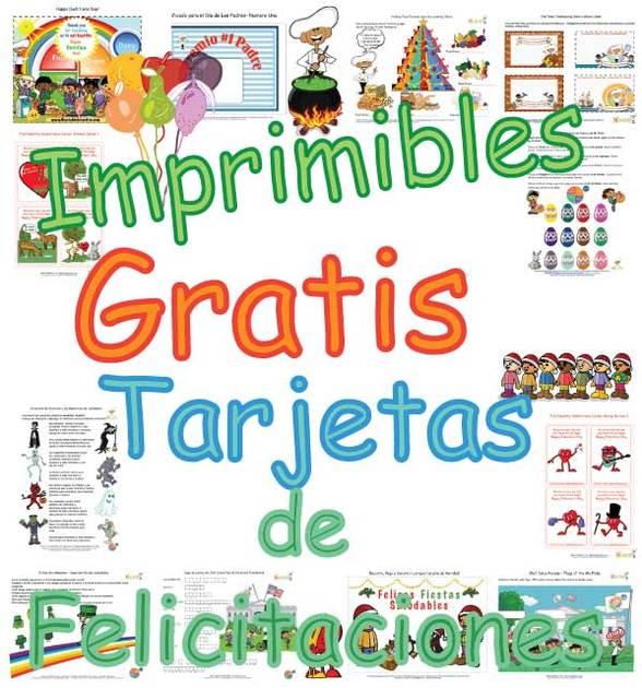 Tarjetas Imprimibles Gratis Para Niños - Bonitas Páginas Para ...
