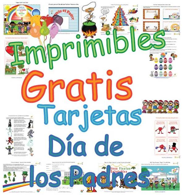 Tarjetas Para Niños Para El Día De Los Padres - Bonitas Páginas Para ...